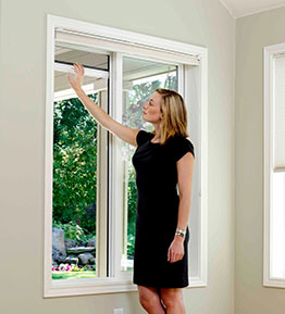 Lovely Our Retractable Window Screens Are Custom Made To Exact Size And Shipped To  You Ready To Install! They Are Easy To Install And Operate.
