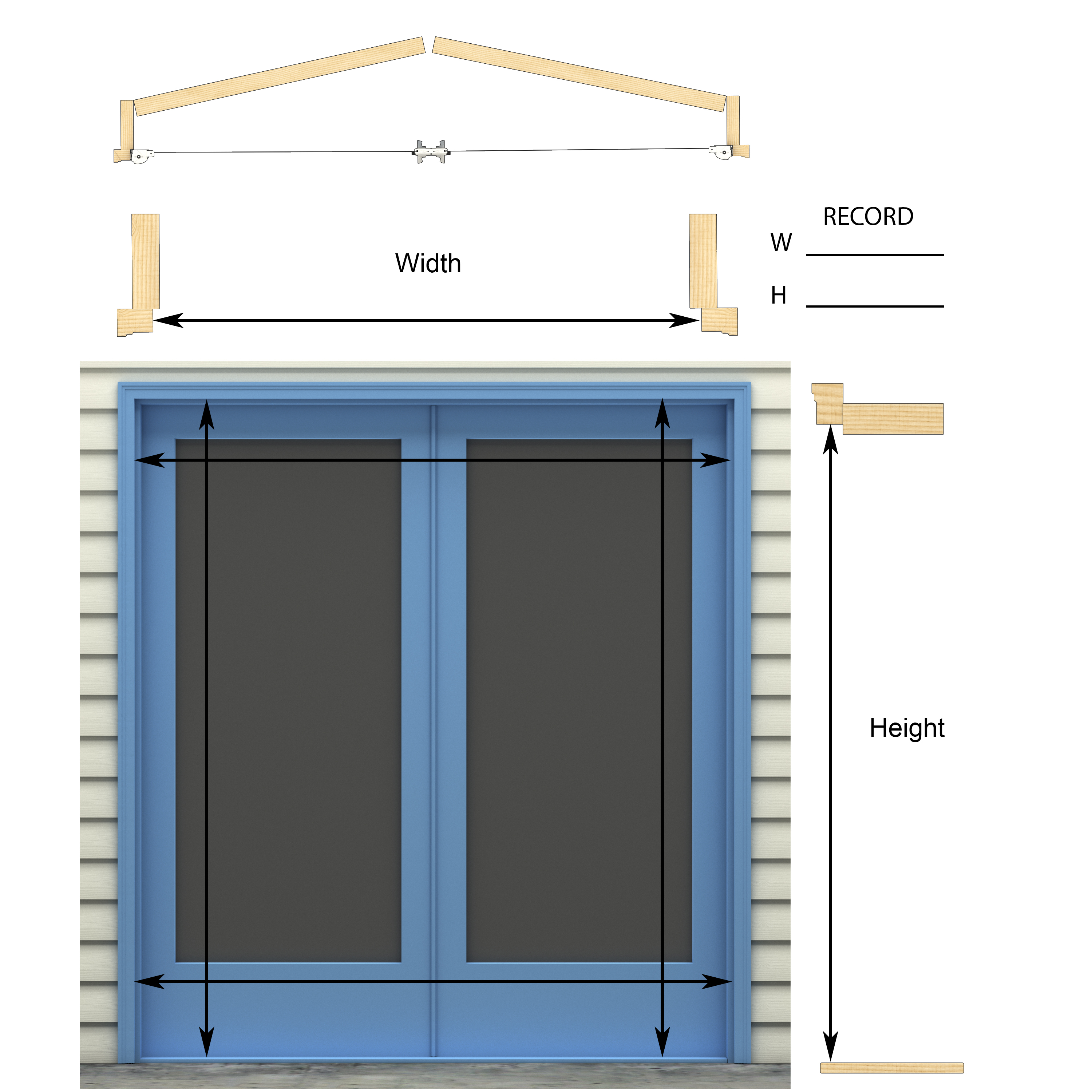 Retractable screens for french doors retractable screen for Genius retractable screen