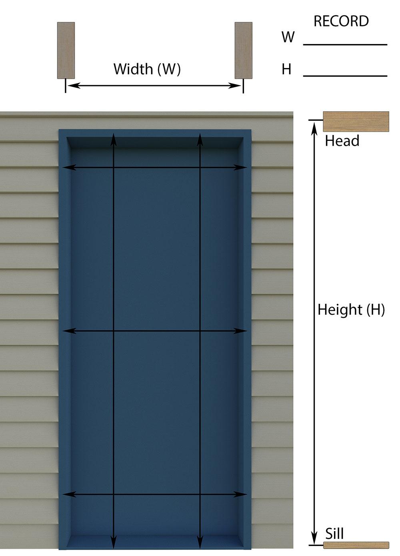 Measuring Door Jamb \u0026 ... 8 Pictures Of Building A Door Frame With ...