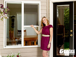Retractable Screens Also Available For Doors, Click Here For More  Information.