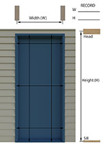 Sliding screen door replacement hidden screen door for Best rated retractable screen doors